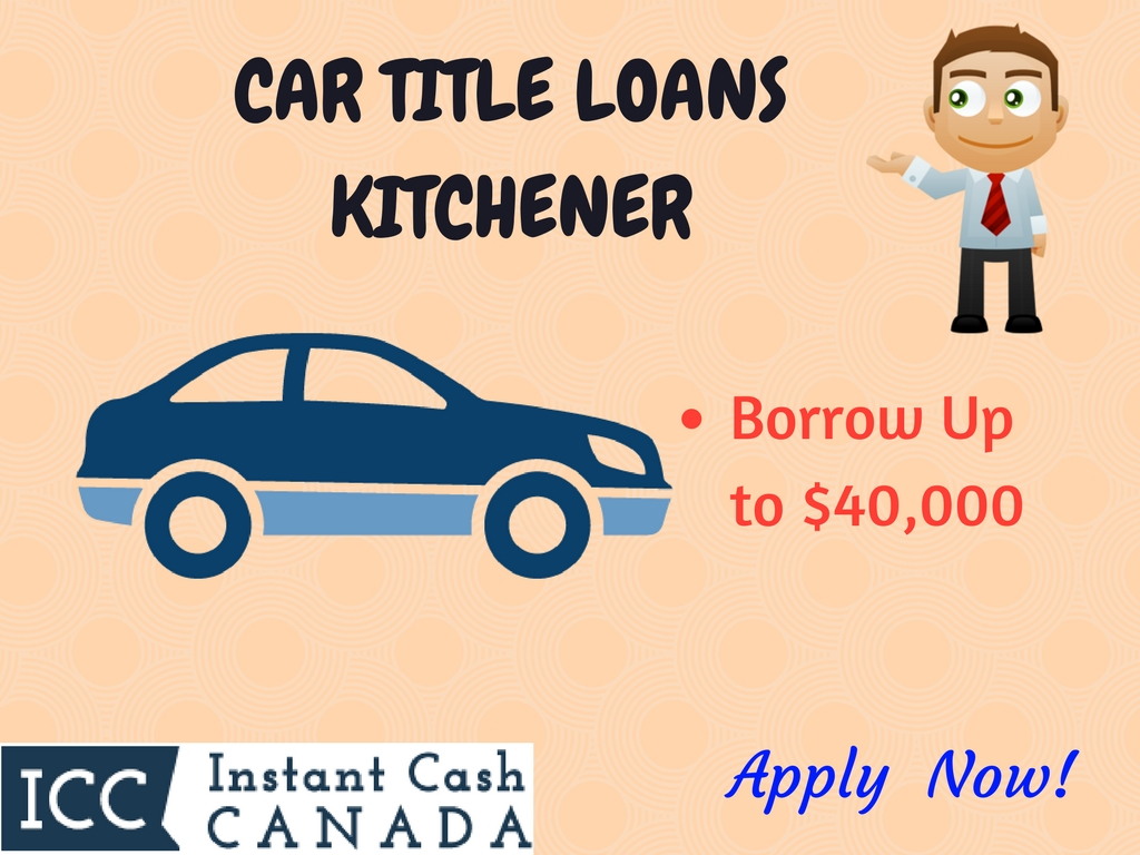 Car Title Loans Kitchener