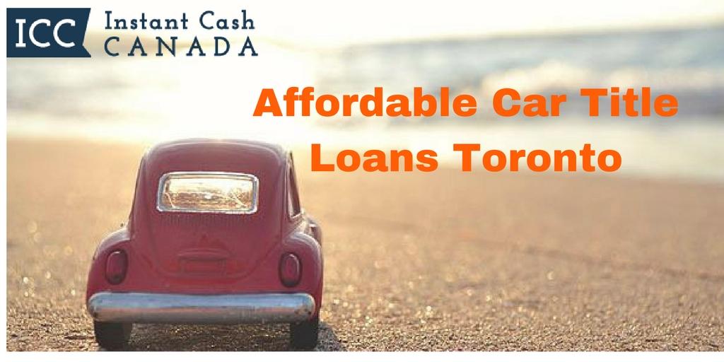 Car Title Loans Toronto Ontario