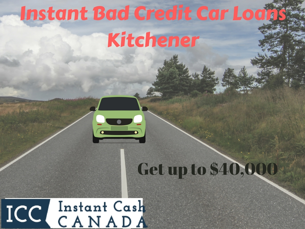 Instant Bad Credit Car Loans Kitchener