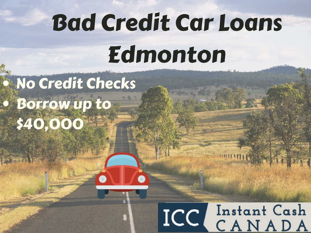 Bad Credit Car Loans Edmonton