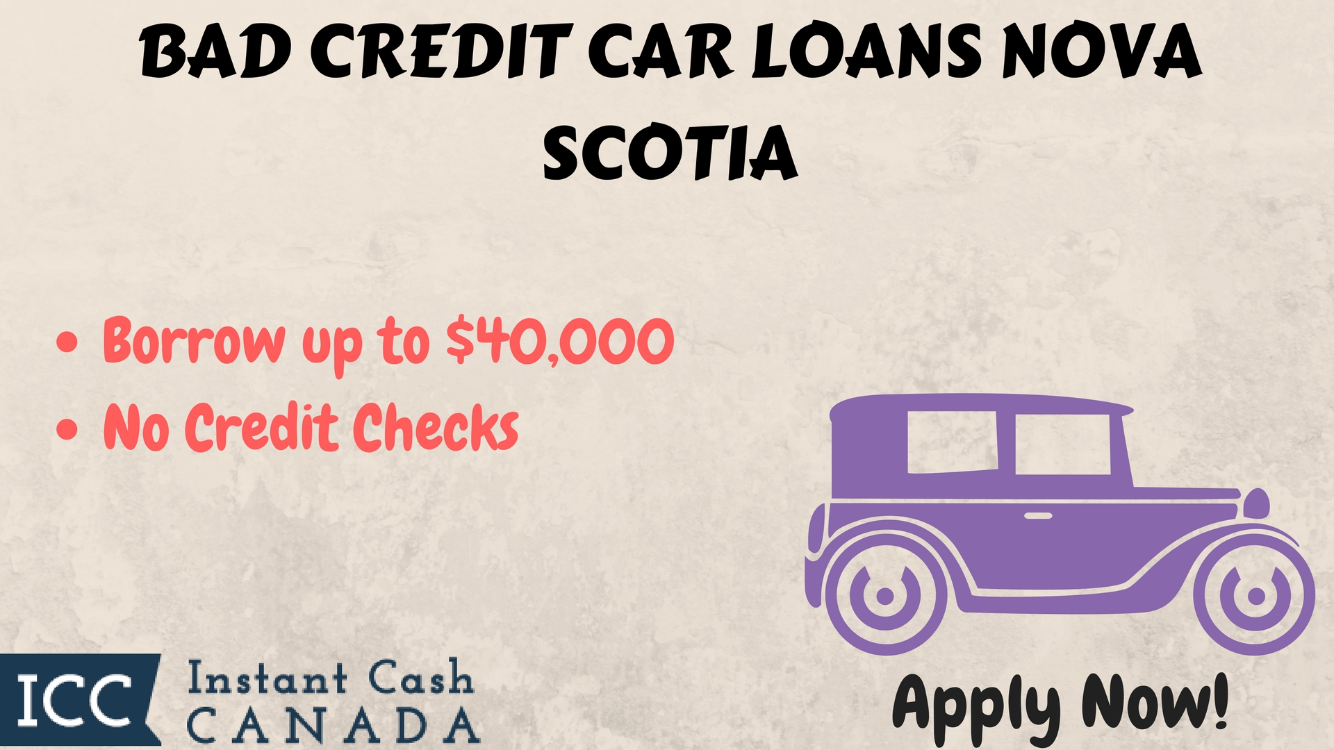 Bad Credit Car Loans Nova Scotia | Instant Cash | Quick Approval