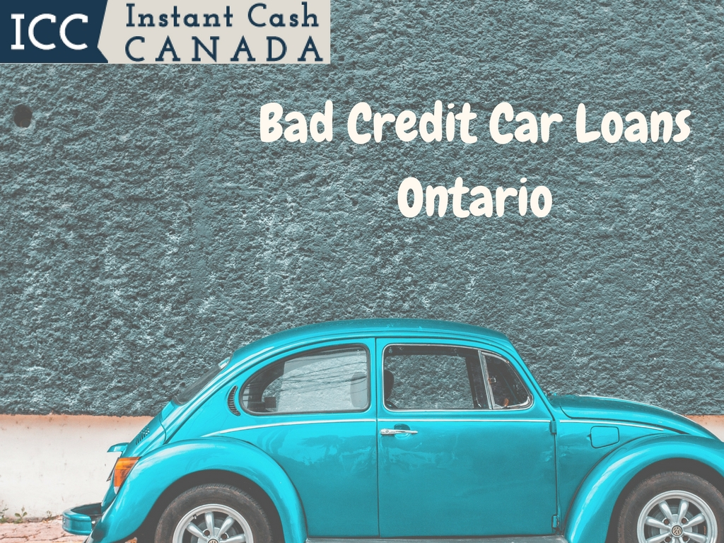 Bad Credit Car Loans Ontario | Equity Loans | No Credit Checks