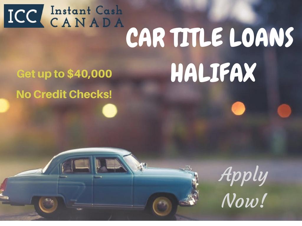 Car Title Loans Halifax