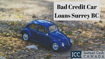 Bad Credit Car Loans Surrey BC