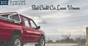 Bad Credit Car Loans Vernon
